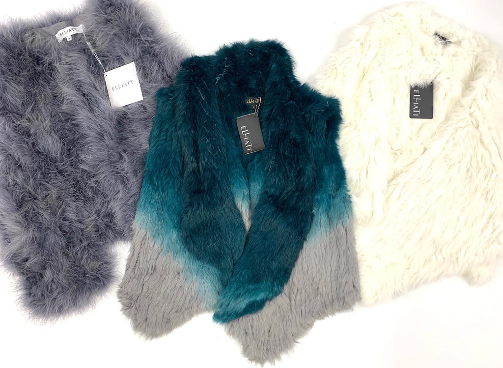 Elliatt | Assorted Rabbit Furs | Jackets & Vests |  4 Piece Min.