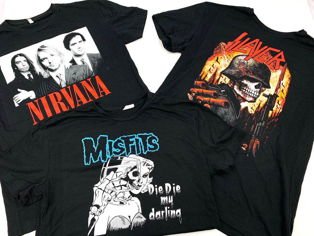 Graphic Band T-shirts | UNISEX | Assorted Bundle | 5 Piece Min.