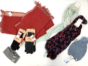 NDSTM RCK | Fall/Winter ACCESSORIES | Raw MIXED CONDITION Pallet | 1400+ Pieces