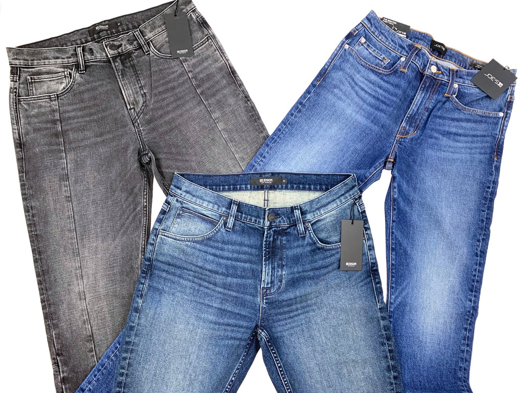 HUDSON & JOE'S | Men's Assorted Jeans | PRODUCTION & SAMPLES | 4 Piece Min.