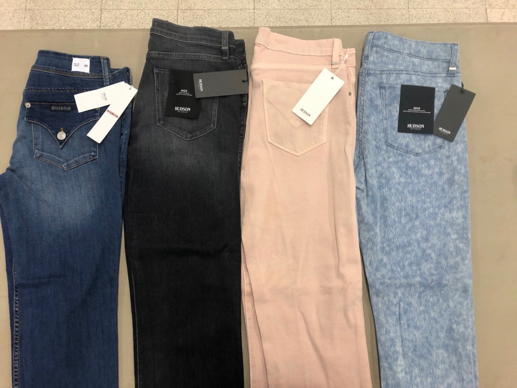 Hudson & Joe's Jeans | Women Assorted Jeans | NEW WITH TAGS | 4 Piece Min.