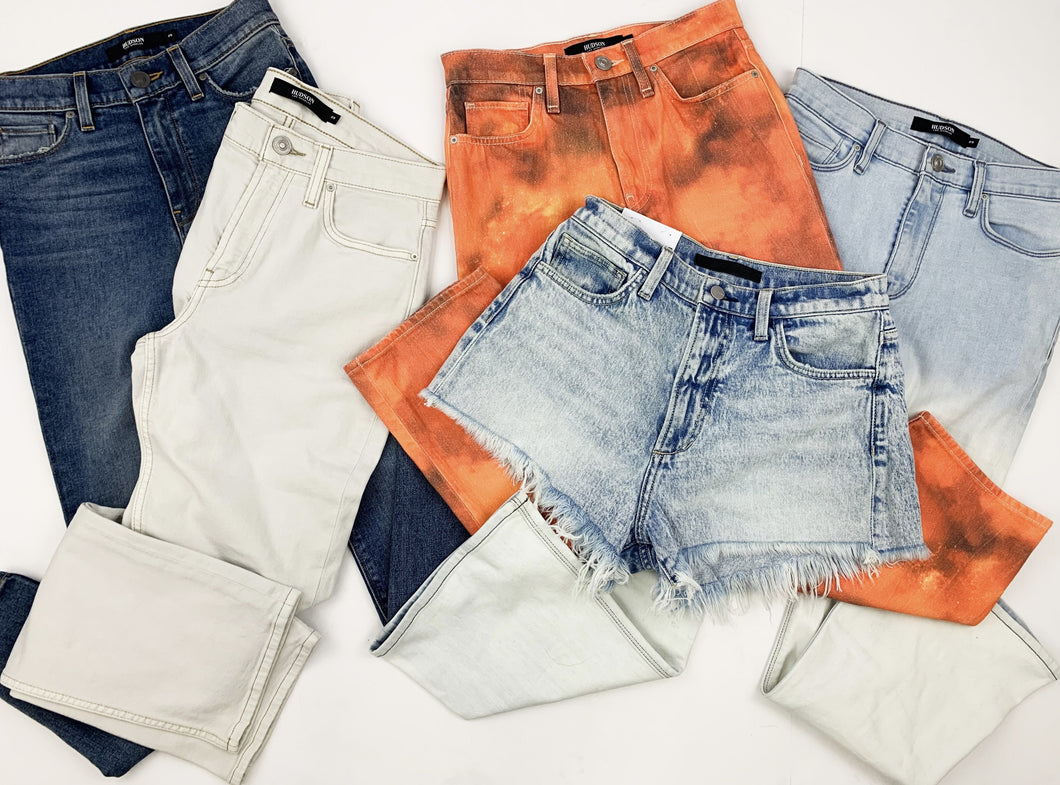 Hudson & Joe's Jeans | Women Assorted Jeans | SAMPLES | 4 Piece Bundles