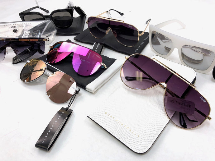 Quay Sunglasses | Women | BRAND NEW | Assorted Bundle | 10 Piece Min.