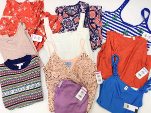 Popular Retailers | Women's Apparel | Economy | Tag-Price: $29.99 or Less | Assorted Bundle