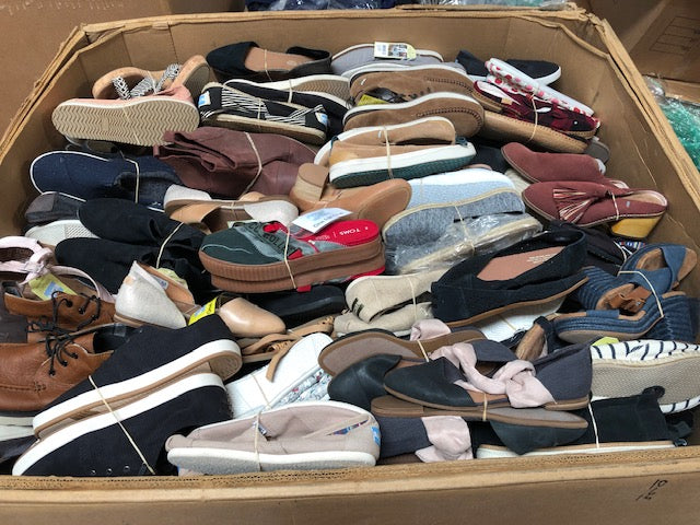 TOMS | Assorted Shoes | Bundles | Women's, Men's & Kids | 10 Pair Min.