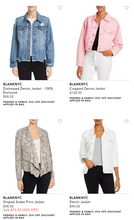 Load image into Gallery viewer, Blank NYC | Women's Jackets & Coats | BRAND NEW W/TAGS | 5 Piece Min.