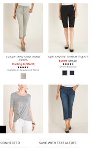 Chico's | Women's Assorted Apparel | LIQUIDATIONS | 10 Piece Min.