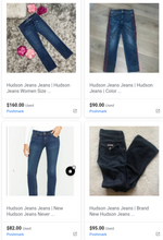 Load image into Gallery viewer, Hudson & Joe's Jeans | Women Assorted Jeans | NEW WITH TAGS | 4 Piece Min.