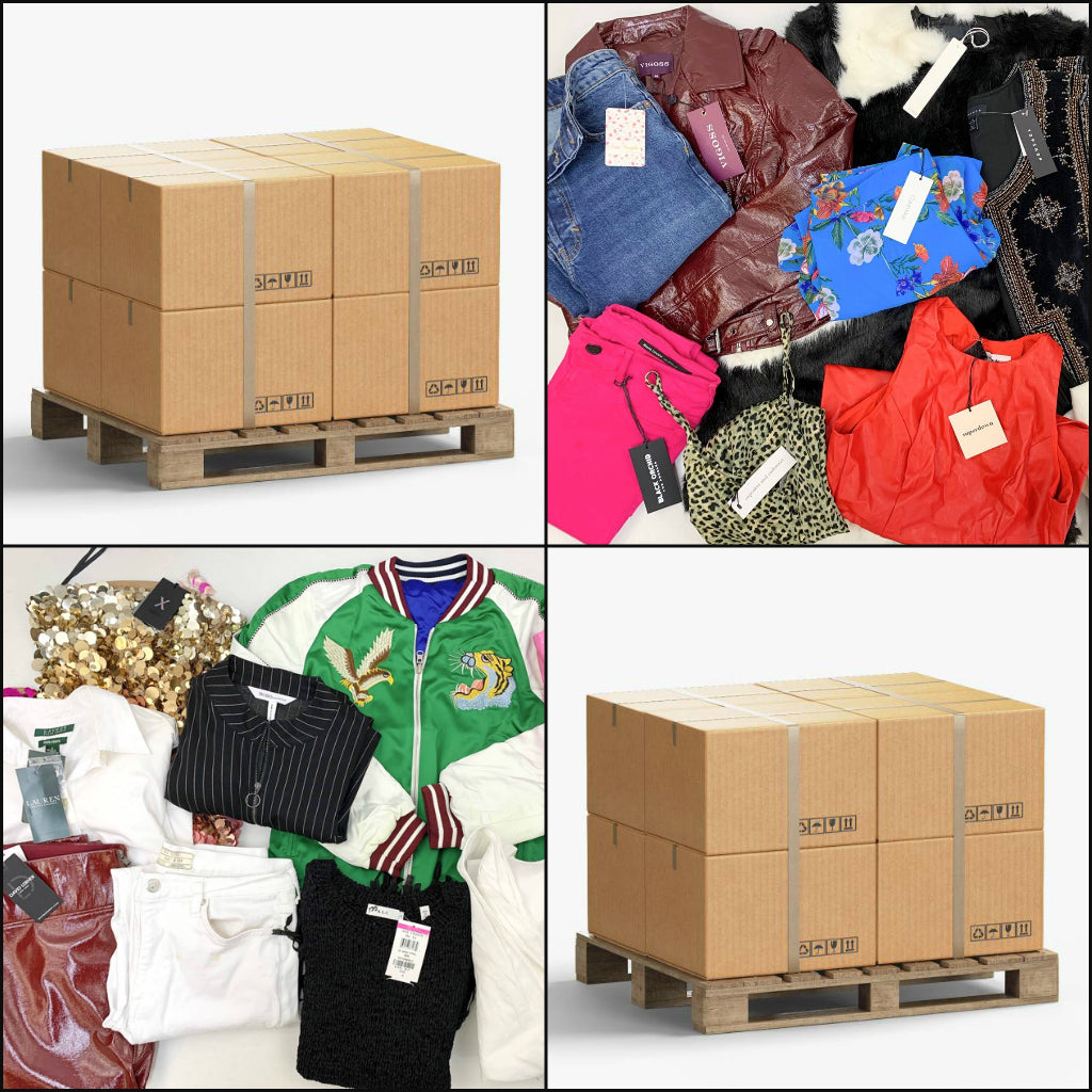 Popular Retailers | Women's Apparel | MIXED - Assorted & Returns 50/50 | HALF PALLET | 225 Pieces