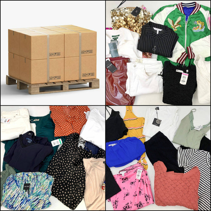 Popular Retailers | Assorted Women's Apparel | HALF PALLET | RETURNS | 225 Pieces