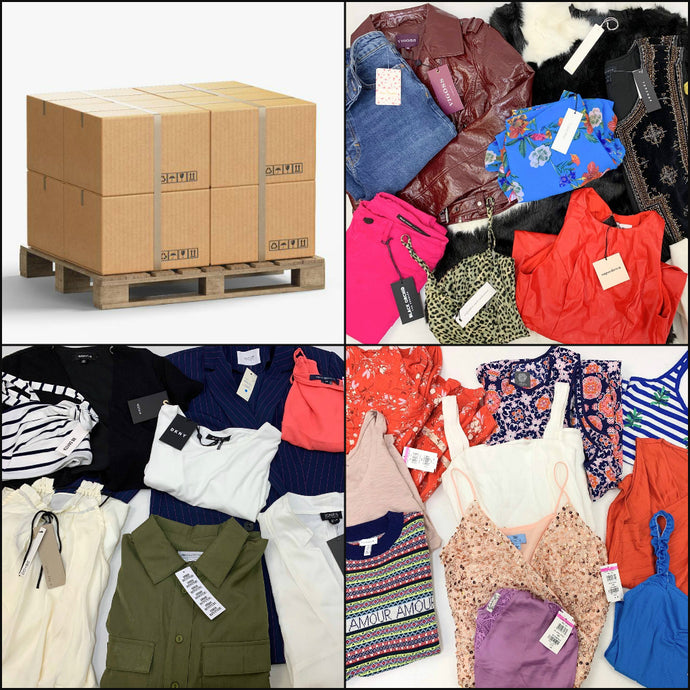 Popular Retailers | Women's Apparel | Assorted | HALF PALLET | 225 Pieces