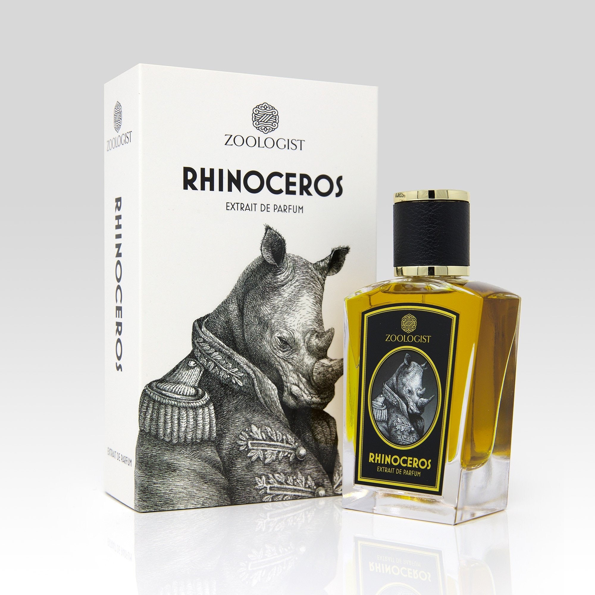 Rhinoceros Deluxe Bottle Extrait de Parfum by Zoologist
