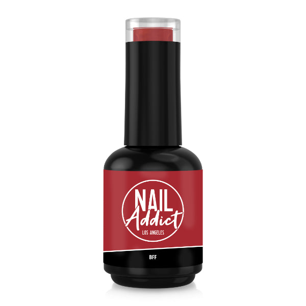 Soak-Off Gel Polish BFF Red Red