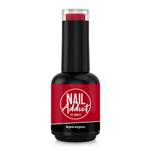 Soak-Off Gel Polish Beyond Gorgeous Red Red