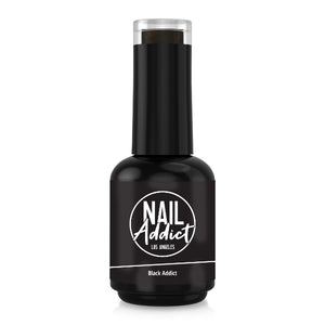 Soak-Off Gel Polish Black Addict Black