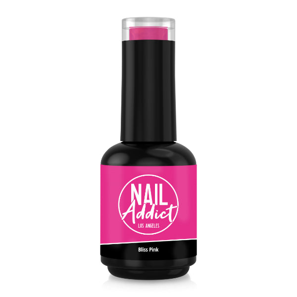 Soak-Off Gel Polish Bliss Pink Pink Fuchsia