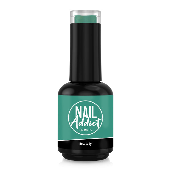 Soak-Off Gel Polish Boss Lady Green Turquoise
