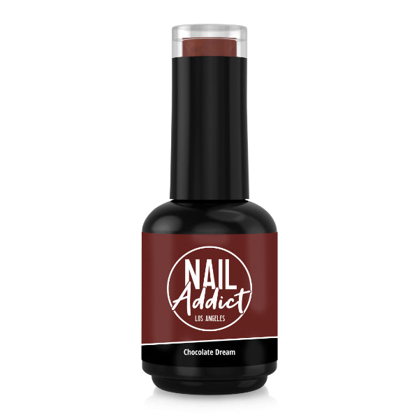 Soak-Off Gel Polish Chocolate Dream Brown Bordeaux