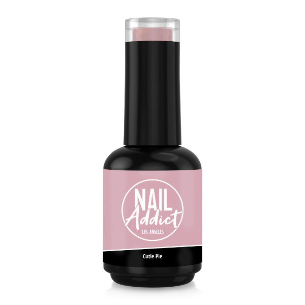 Soak-Off Gel Polish Cutie Pie Pink Soft, Dark Pink