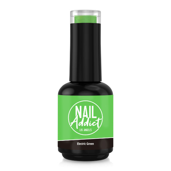 Soak-Off Gel Polish Electric Green Green  Neon Green