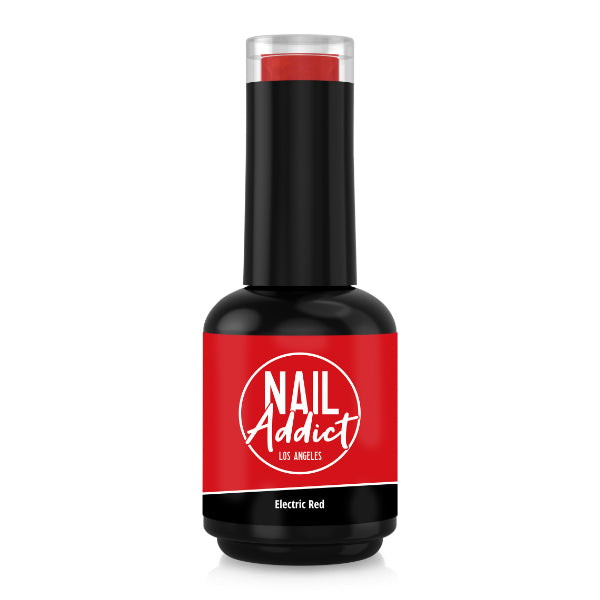 Soak-Off Gel Polish Electric Red Red Intense Red