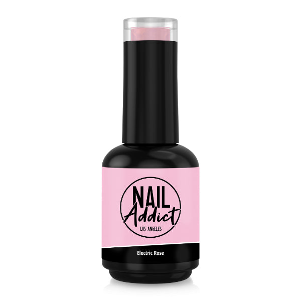 Soak-Off Gel Polish Electric Rose Pink  Neon Light Pink