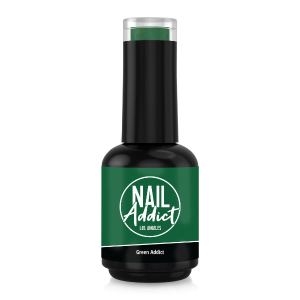 Soak-Off Gel Polish Green Addict Green