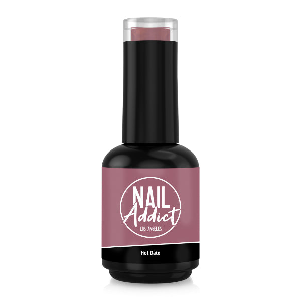 Soak-Off Gel Polish Hot Date Brown Dark Nude