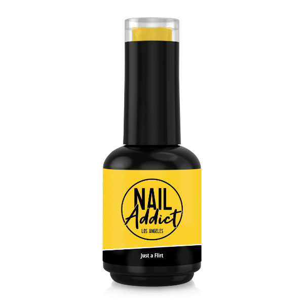 Soak-Off Gel Polish Just a Flirt Yellow Yellow