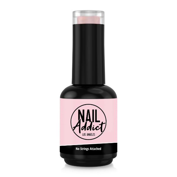 Soak-Off Gel Polish No Strings Attached Pink Light Pink