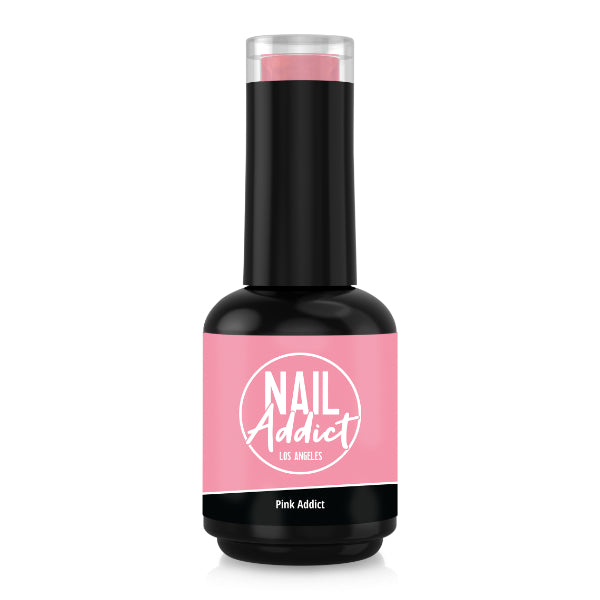 Soak-Off Gel Polish Pink Addict Pink