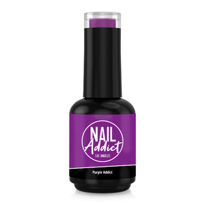 Soak-Off Gel Polish Purple Addict Purple Violet