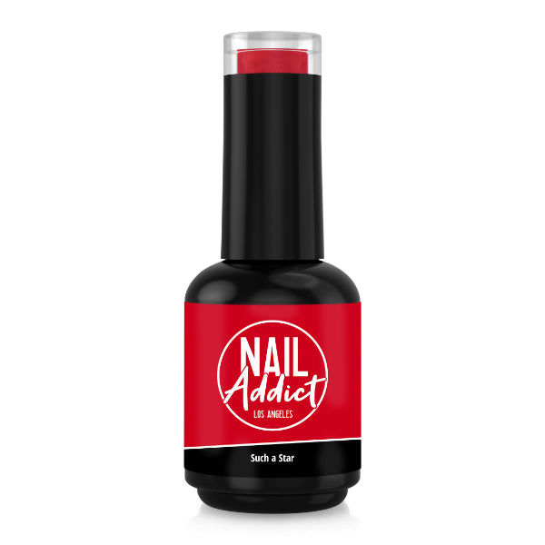 Soak-Off Gel Polish Such a Star Red Light Red