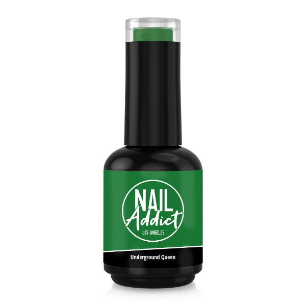 Soak-Off Gel Polish Underground Queen Green Green