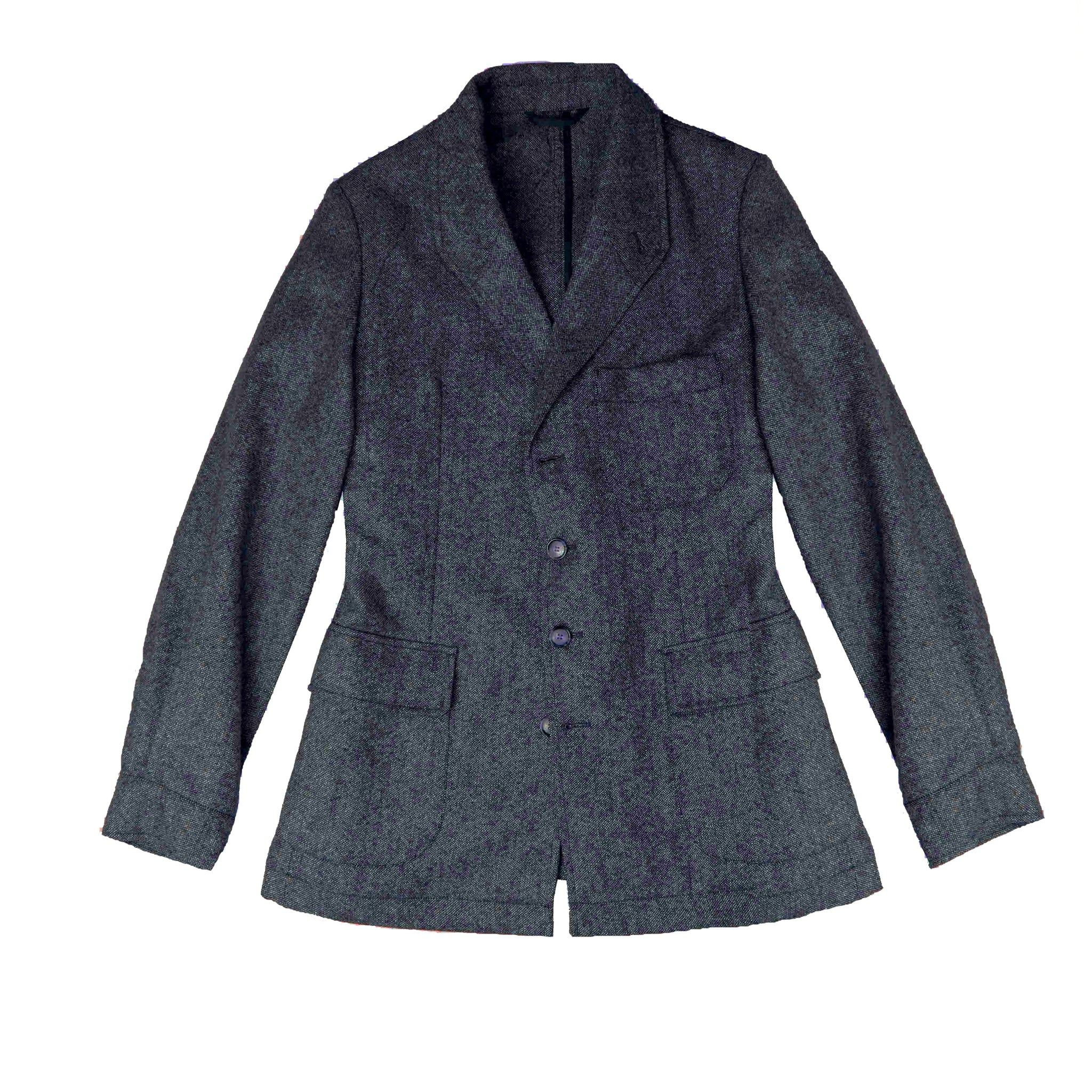 Veste arTeba VS tweed caviar marine