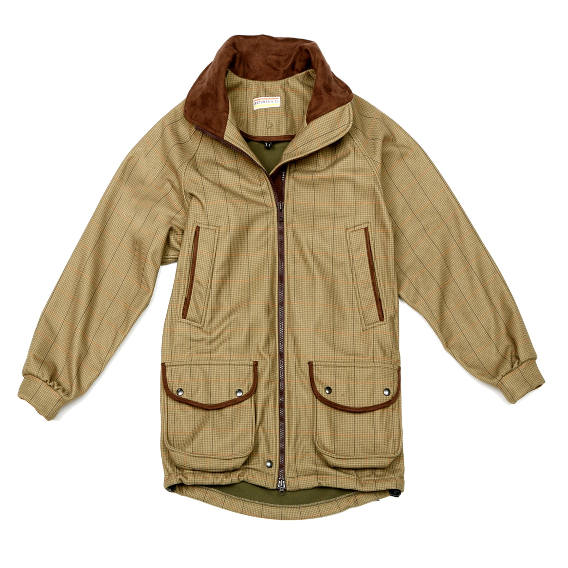 Field-coat Gameshooter ladies argyll tweed