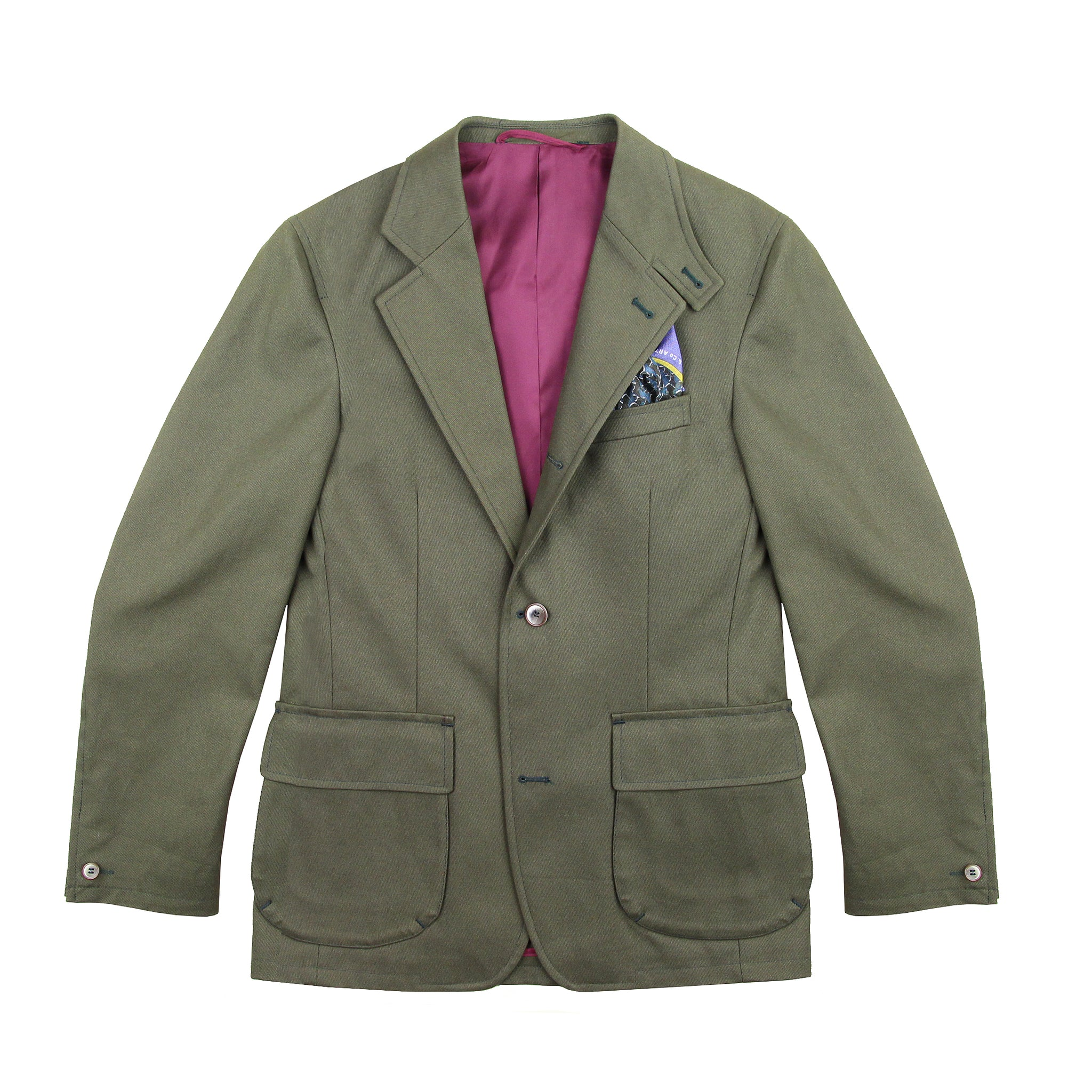 Veste Beaumont cavalry twill Olive
