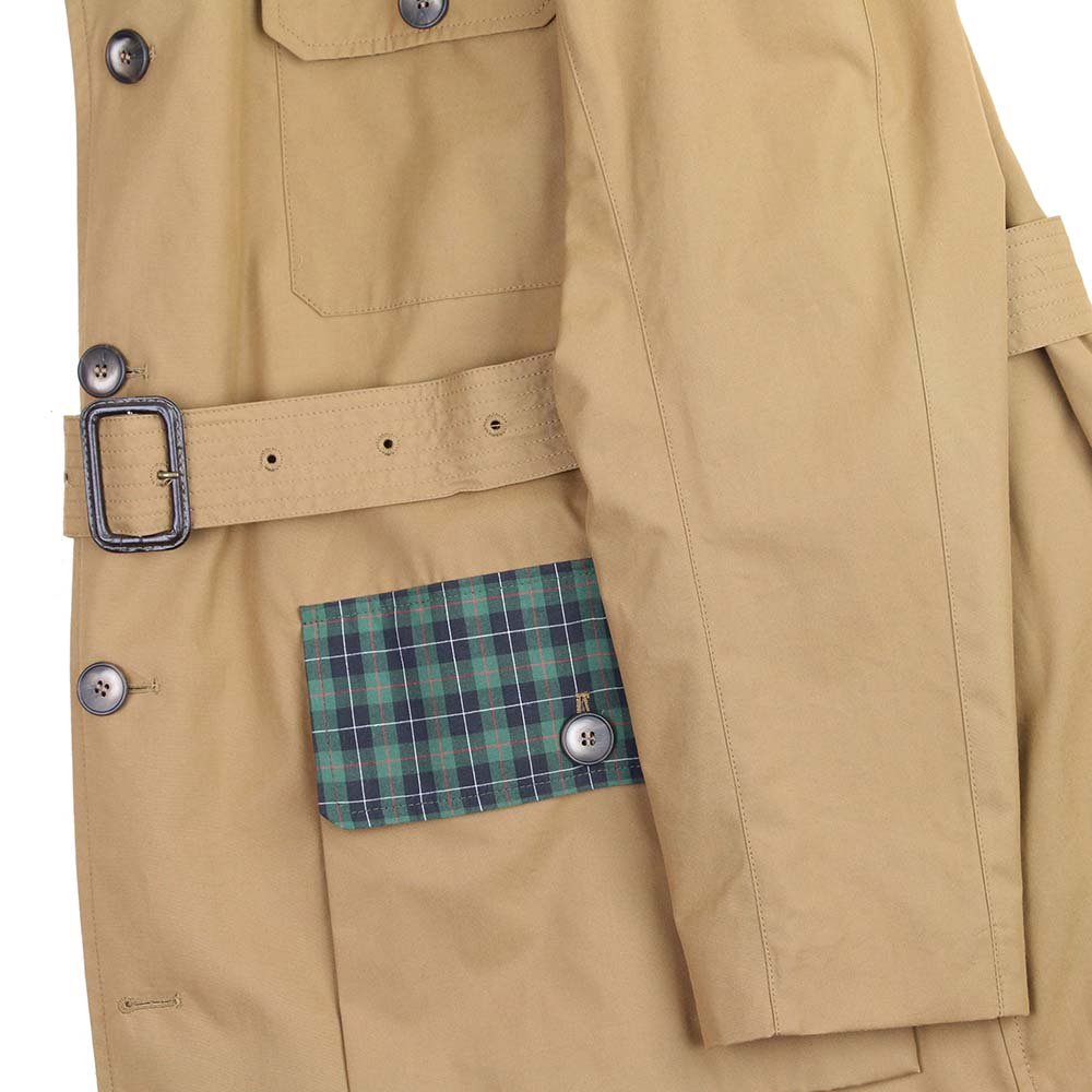 Impermeable Country ventile beige