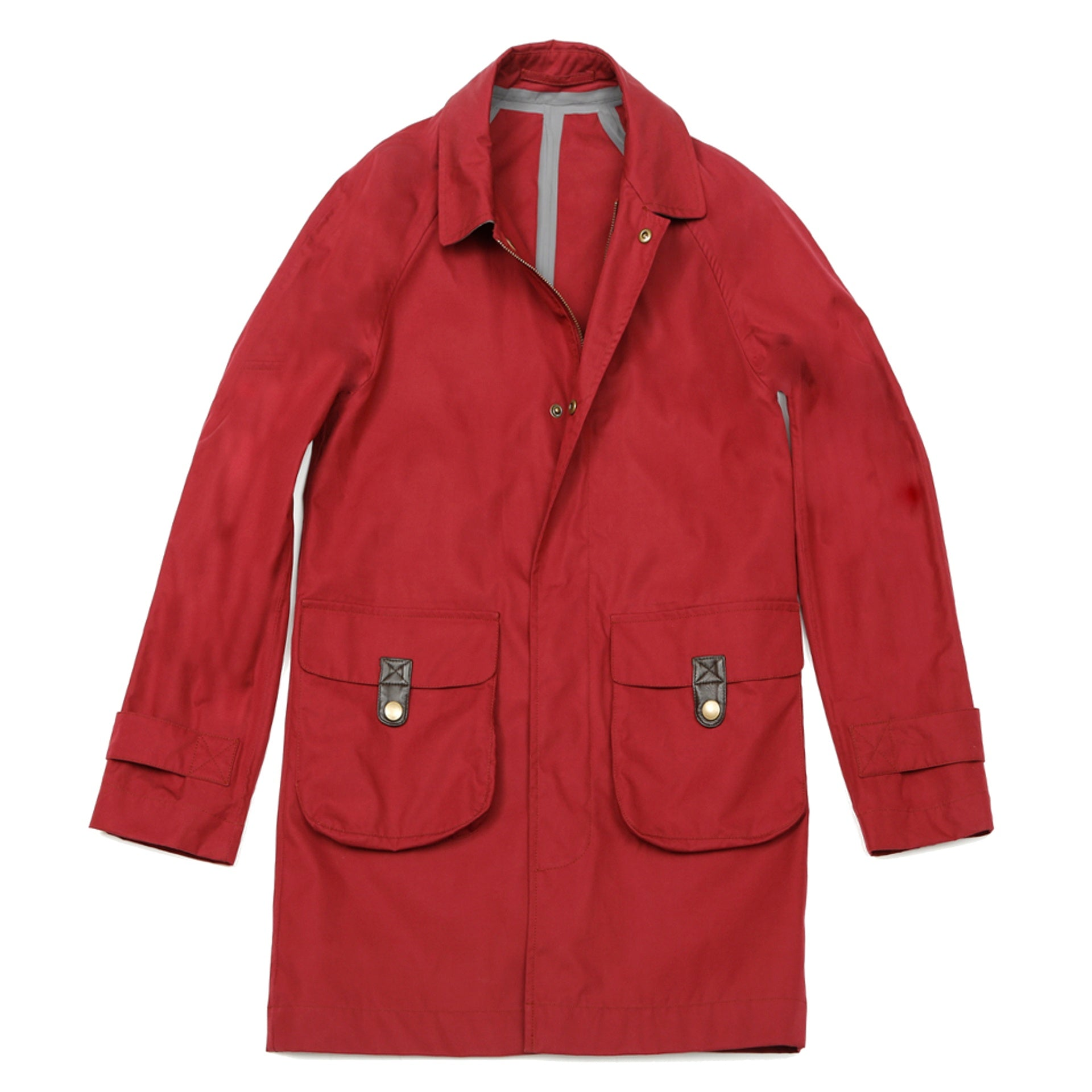 Impermeable City ventile bordeaux