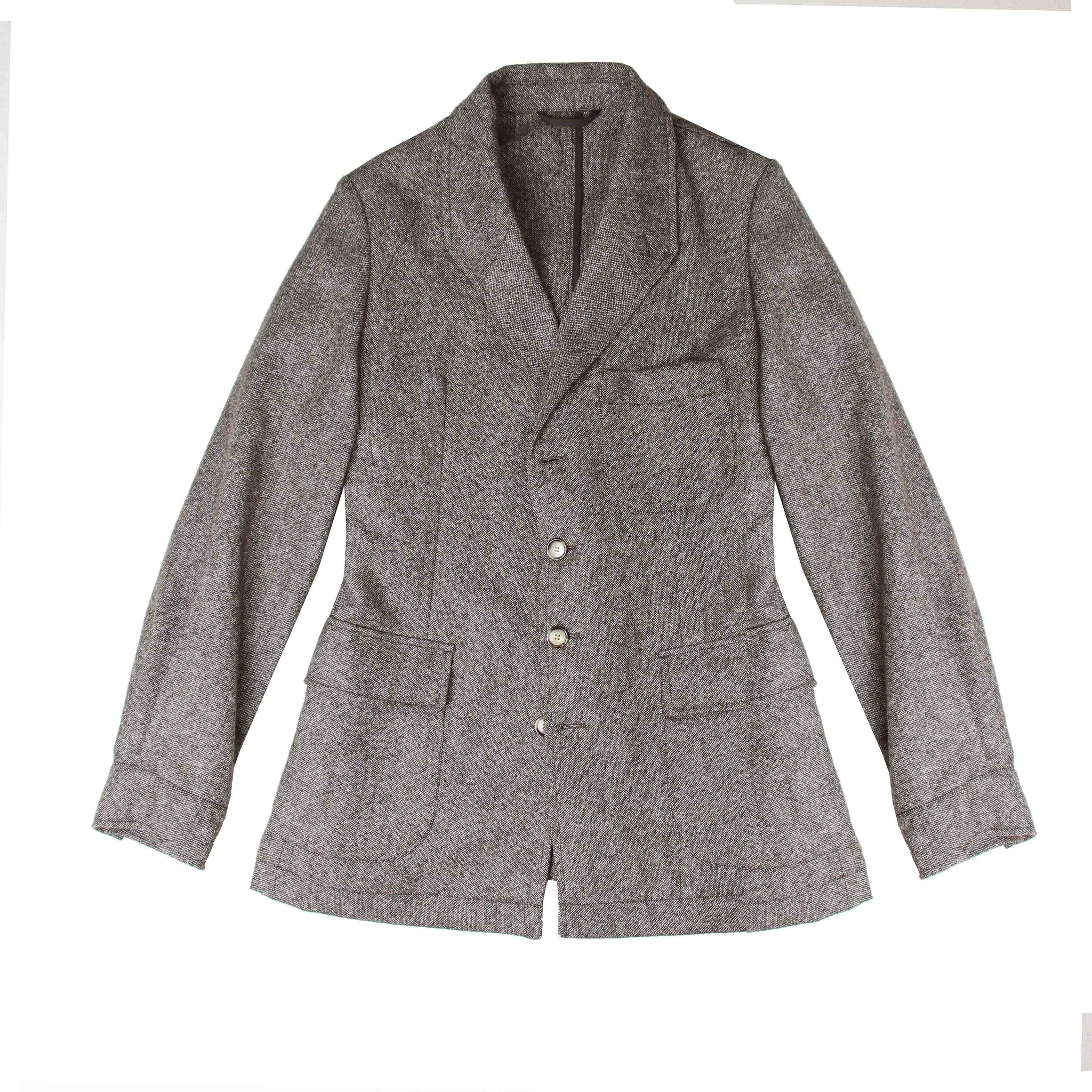 Veste arTeba VS tweed caviar beige