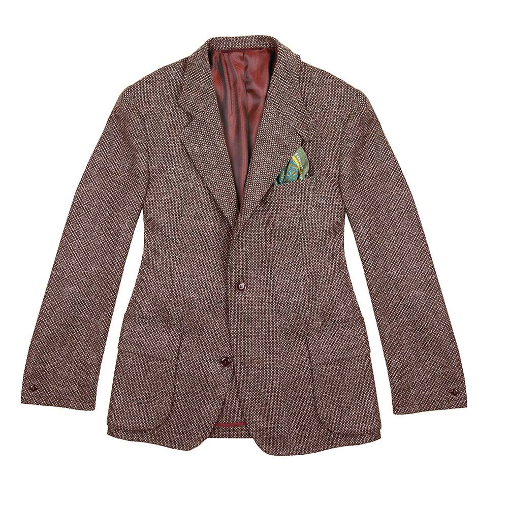 Veste Beaumont natte rouge