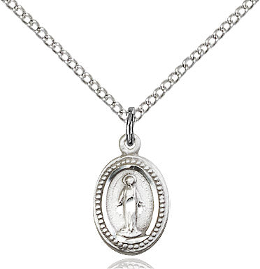 "Miraculous Medal on 18"" Chain"