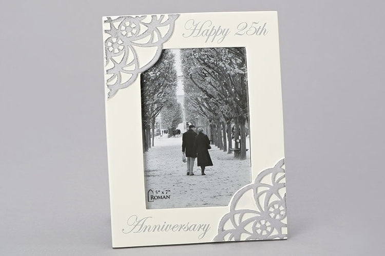 "25TH ANNIVERSARY FRAME 9.5""H"