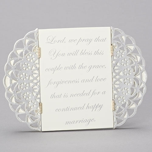 "ANNIVERSARY TABLE PLAQUE 7""H"