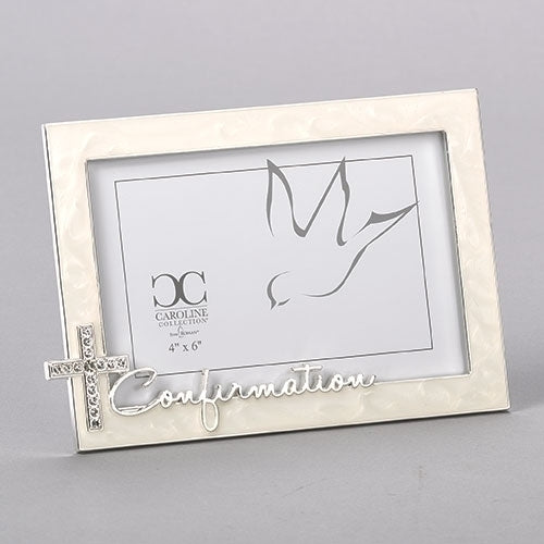 "Ivory Confirmative Frame 5.5""H"