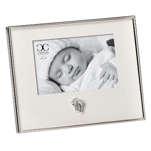 "BABY FEET FRAME - 7.25""H WITH MATTE"