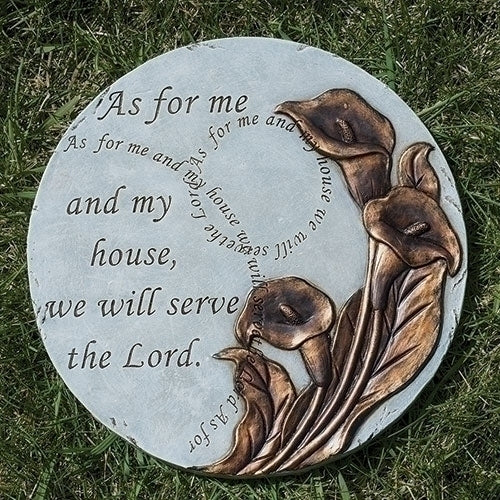 "AS FOR ME AND MY HOUSE - STEPPING STONE 9""D"
