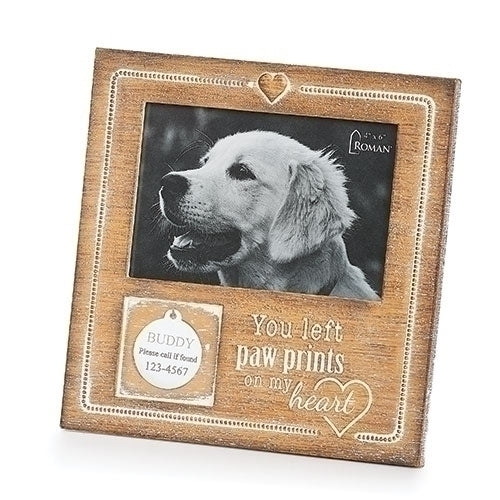 "Pet Tag Memorial Frame 7.75""H"