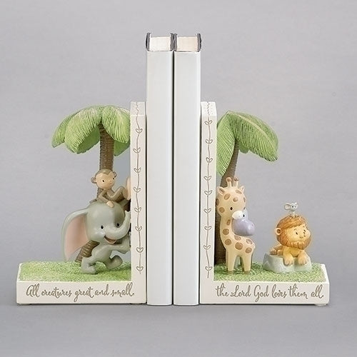 "BOOKENDS -  ALL CREATURES 6.5""H"