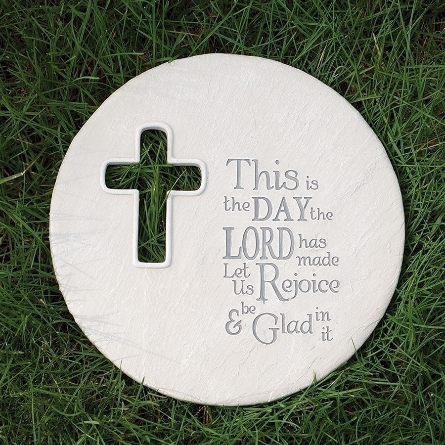 "THIS IS THE DAY PLAQUE 8.75""H"